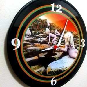 LED ZEPPELIN - HOUSES OF HOLY - 12 IN WALL CLOCK